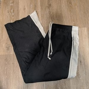 Nike capri pants with a slit at the calf.